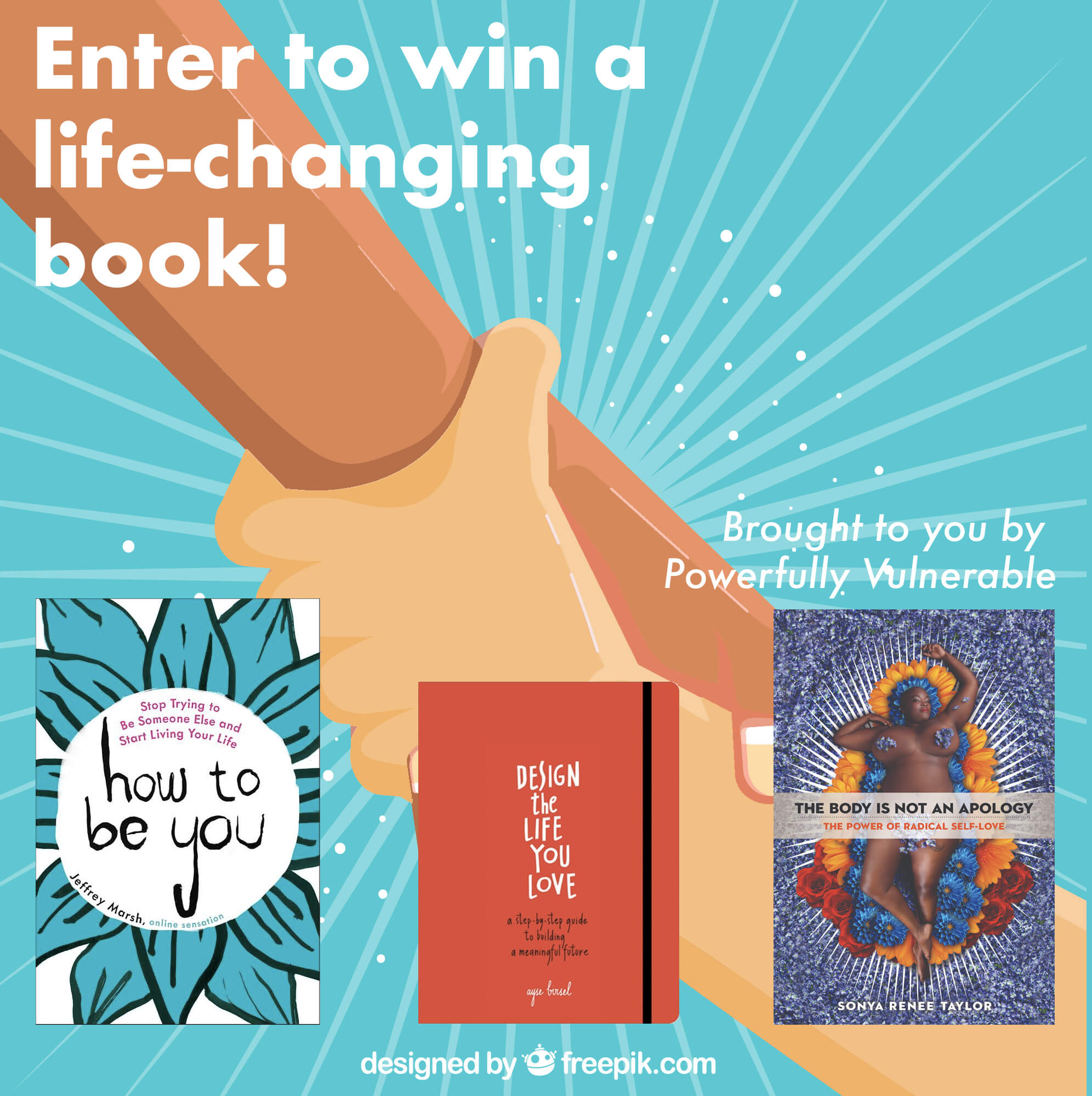 [Enter to win a life-changing book! Brought to you by Powerfully Vulnerable.]
